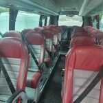 BU66ABC inside red leather seats